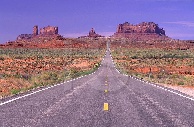 Route 163 Arizona Utah Border