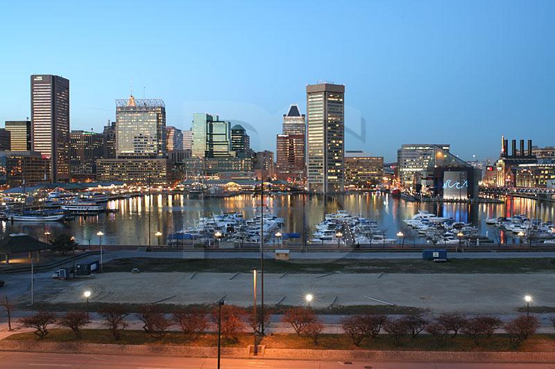Baltimore Skyline At Twilight 2