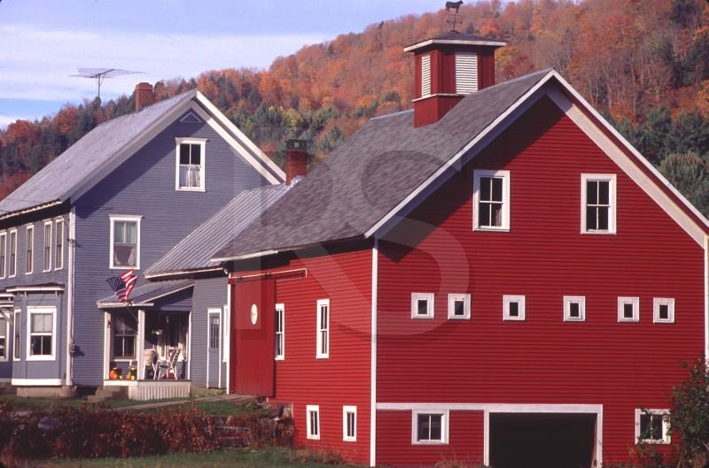 New england barn style house plans for Vermont farmhouse plans