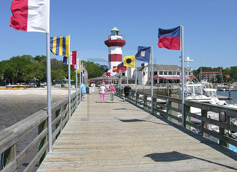 Harbor town for Hilton head fishing pier