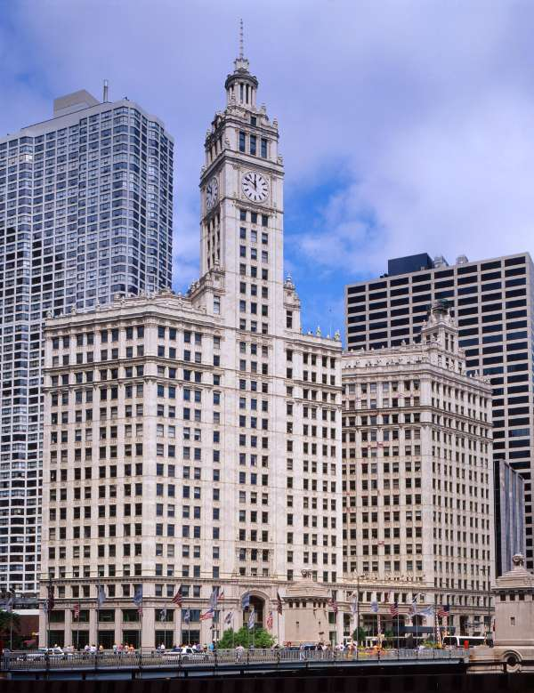 Wrigley building michigan ave for Architecture keywords
