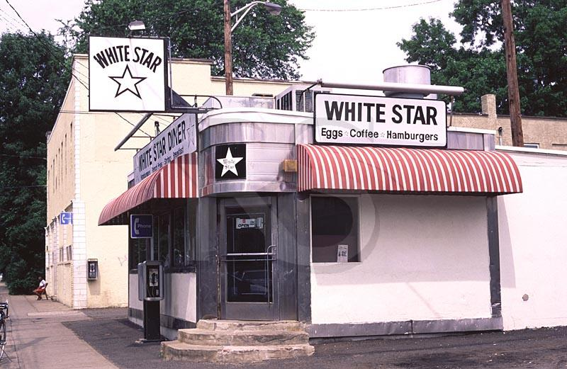 White star diner for American classic diner