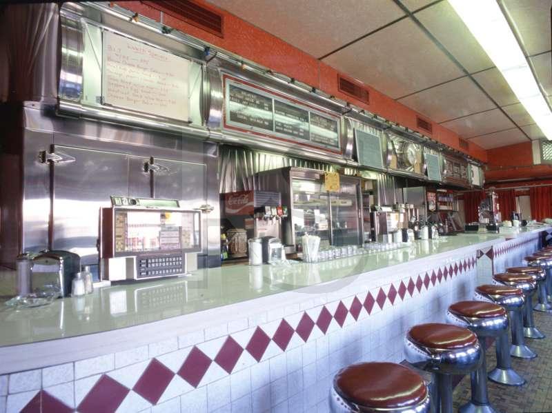 Bound brook diner interior for Diner interior