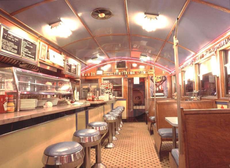 Harley diner interior for Diner interior
