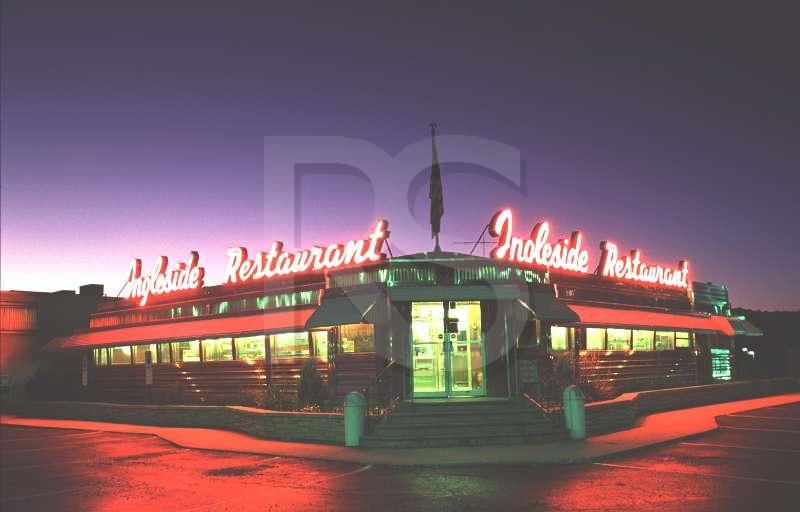 Ingleside diner exterior for 50 s diner exterior