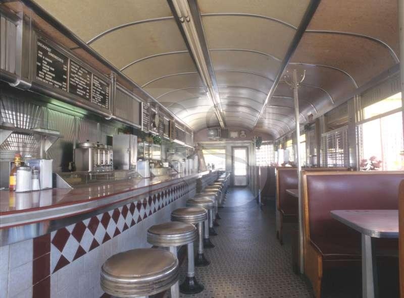 Teamsters Diner, Interior