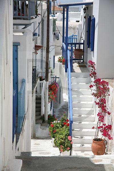 Mykonos Street Scene