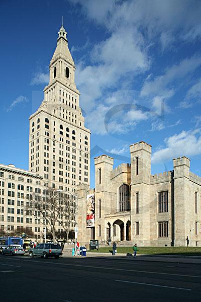 Travelers Tower and Wadsworth Atheneum 1