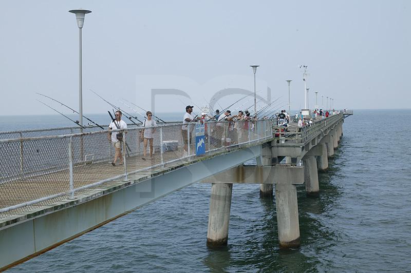Fishing pier for Chesapeake bay bridge fishing report