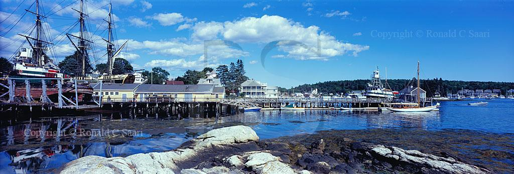 Boothbay Harbor Panoramic