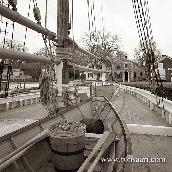 Fishing Schooner L.A. Dunton, Mystic Seaport Museum