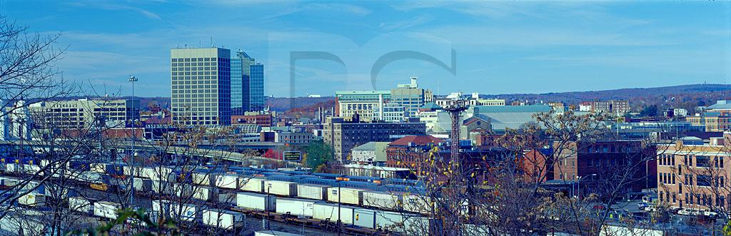Worcester Skyline Panoramic