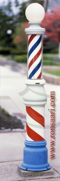 Barber Pole Panoramic, Caravelli's Barber Shop