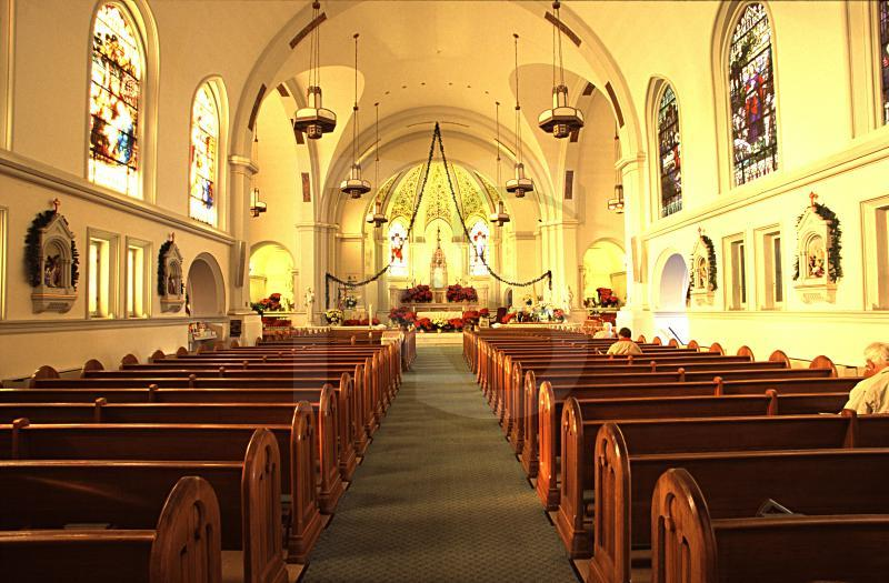 Our Lady Star Of The Sea Roman Catholic Church, Interior
