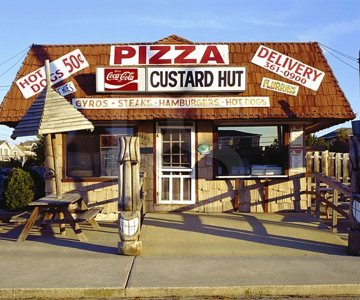 Custard Hut & Pizza,