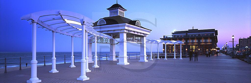 Long Branch Boardwalk Panoramic,