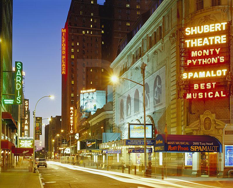St. James Theatre Broadway New York