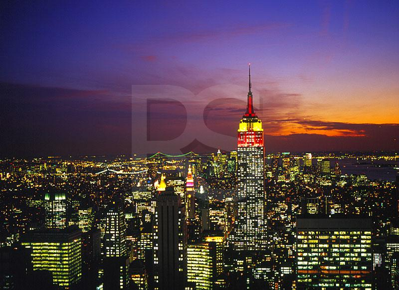 Empire State Building And Manhattan Skyline 2