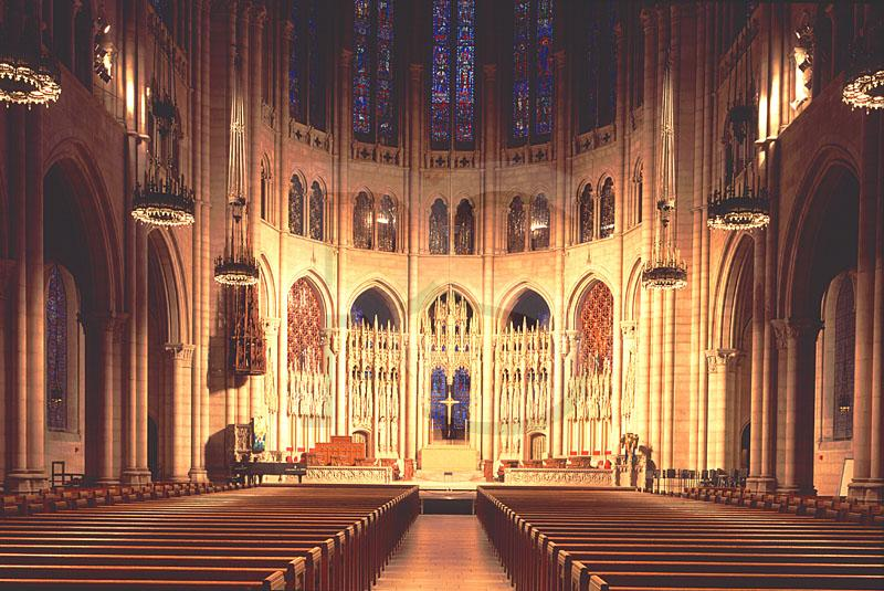 Riverside Church, Interior