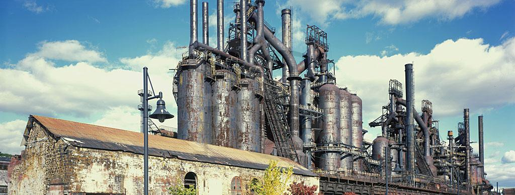 Bethlehem Steel Works Panoramic 1