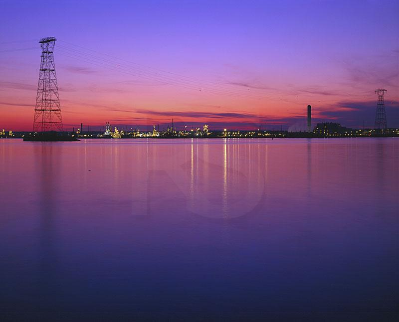 Marcus Hook Refinery And Delaware River