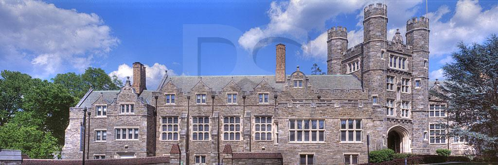Bryn Mawr College, Rockerfeller Residence Hall Panoramic 1