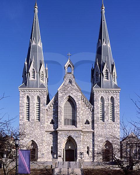 St Thomas Of Villanova Chapel Exterior Villanova University