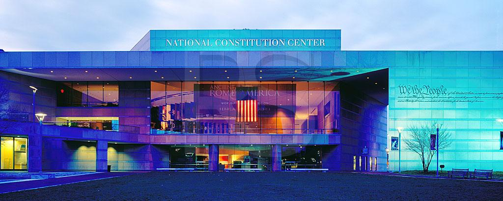 National Constitution Center Panoramic