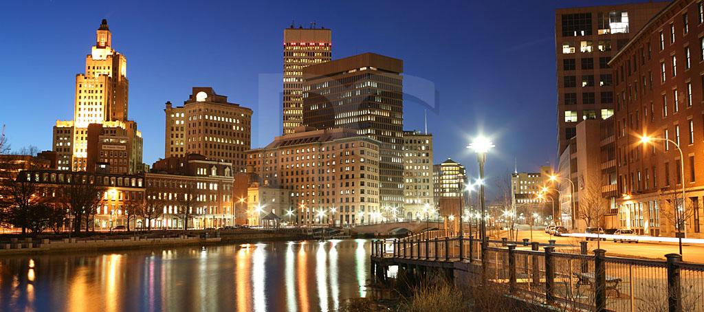 Providence Skyline Panoramic 1