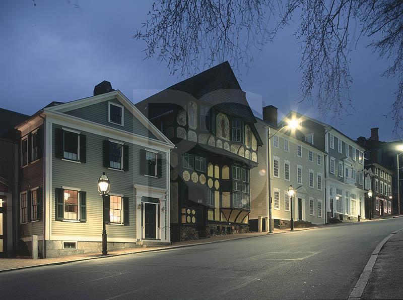 Thomas Street Residences At Night