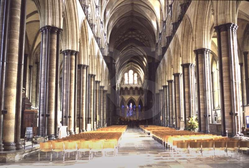 Salisbury Cathedral, Interior